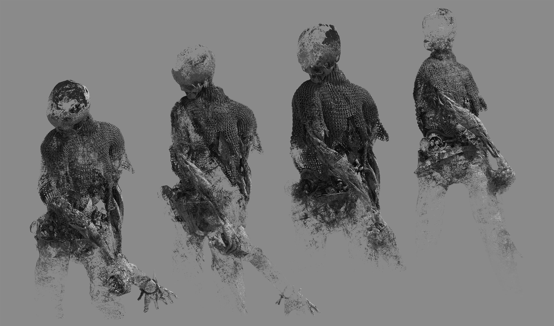 skeleton 3d study
